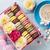 macaroons and coffee sweet macarons in gift box stock photo © karandaev