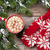 Navidad · mitones · chocolate · caliente · malvavisco · superior - foto stock © karandaev