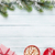 árbol · de · navidad · chocolate · caliente · malvavisco · Navidad · superior - foto stock © karandaev