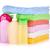 handdoeken · shampoo · bloemen · Blauw · ontspannen · kleur - stockfoto © karandaev