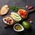 トースト · サンドイッチ · アボカド · トマト · 鮭 · オリーブ - ストックフォト © karandaev
