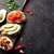 ouvrir · sandwiches · pain · jambon · fromages · tomate - photo stock © karandaev