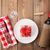 szkatułce · tablicy · drewniany · stół · żywności · tle - zdjęcia stock © karandaev