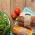 sandviçler · peynir · jambon · stüdyo · gıda · ekmek - stok fotoğraf © karandaev