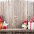 Noel · mum · fener · hediye · ahşap - stok fotoğraf © karandaev