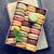 kleurrijk · steen · tabel · zoete · macarons · top - stockfoto © karandaev