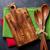 keuken · houten · muur · ruimte · voedsel - stockfoto © karandaev