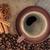 kávéscsésze · fahéj · ánizs · kávé · fókusz · csésze - stock fotó © karandaev