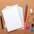 blank notepad on cork notice board stock photo © karandaev