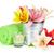 coloré · Lily · fleurs · panier · bois · espace - photo stock © karandaev