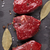raw fillet beef steak and spices stock photo © karandaev