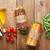 два · Бутерброды · Салат · ветчиной · сыра · помидоров - Сток-фото © karandaev