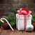 Christmas gift box and tree branch stock photo © karandaev