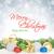 Weihnachten · farbenreich · Dekor · Schnee · isoliert - stock foto © karandaev