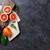 rojo · pomelo · mesa · de · cocina · color · piel - foto stock © karandaev