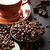 coffee cup beans chocolate stock photo © karandaev