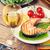 grilled salmon and whtie wine stock photo © karandaev