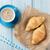 croissants · tabela · bolo · jantar · café · da · manhã - foto stock © karandaev