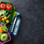 pranzo · finestra · materiale · scolastico · verdura · sandwich · tavolo · in · legno - foto d'archivio © karandaev