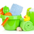 beach baby toys towels and bottles stock photo © karandaev