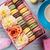 красочный · кофе · Sweet · macarons · деревянный · стол · шкатулке - Сток-фото © karandaev