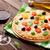 italiana · pizza · vino · rosso · formaggio · pomodori · olive - foto d'archivio © karandaev