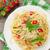 пластина · свежие · спагетти · помидоров · жира - Сток-фото © karandaev