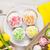 イースター · 黄色 · チューリップ · カラフル · 卵 · 白 - ストックフォト © karandaev