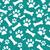 witte · hond · poot · tegel · patroon · herhalen - stockfoto © karenr