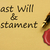 getting a last will and testament stock photo © karenr