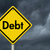 dívida · aviso · placa · sinalizadora · amarelo · cautela · assinar - foto stock © karenr