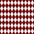 Red and White Diamond Shape Fabric Background stock photo © karenr
