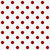 red polka dots on white textured fabric background stock photo © karenr