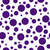 dark purple polka dots on white textured fabric background stock photo © karenr