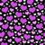 purple white and black hearts tile pattern repeat background stock photo © karenr