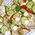 harapnivalók · lazac · ikra · zöldségek · fekete · tányér - stock fotó © karin59