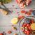 insalata · formaggio · tipo · gorgonzola · prosciutto · noce · alimentare · blu - foto d'archivio © karpenkovdenis