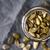 Pumpkin seeds in the glass jar cloth-up stock photo © Karpenkovdenis