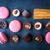チョコレート · 青 · 石 · 水平な · 食品 - ストックフォト © karpenkovdenis