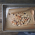Granola in baking tray on the wooden table top view stock photo © Karpenkovdenis