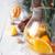 цитрусовые · коктейль · стекла · кувшин · белый · деревянный · стол - Сток-фото © Karpenkovdenis