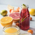 glas · fles · vers · mandarijn- · mandarijn · sap - stockfoto © karpenkovdenis