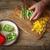 groene · peper · pizza · horizontaal - stockfoto © Karpenkovdenis