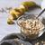 燕麦 · バナナ · 食品 · 背景 · トウモロコシ - ストックフォト © karpenkovdenis