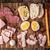 先頭 · 表示 · ピース · パン · まな板 · ナイフ - ストックフォト © karpenkovdenis