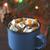 chocolat · chaud · mug · chocolat · étoiles · boire · tasse - photo stock © karpenkovdenis