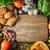 различный · растительное · зерна · хлеб · деревянный · стол · Top - Сток-фото © Karpenkovdenis
