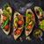 Cut · Ломтики · томатный · листьев · Салат · продовольствие - Сток-фото © karpenkovdenis