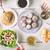 hanukkah dinner with traditional dishes horizontal stock photo © karpenkovdenis