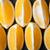 Arrangement of yellow lemon slices stock photo © Karpenkovdenis